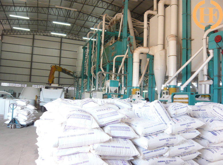 Brazil 80TPD wheat flour mill line