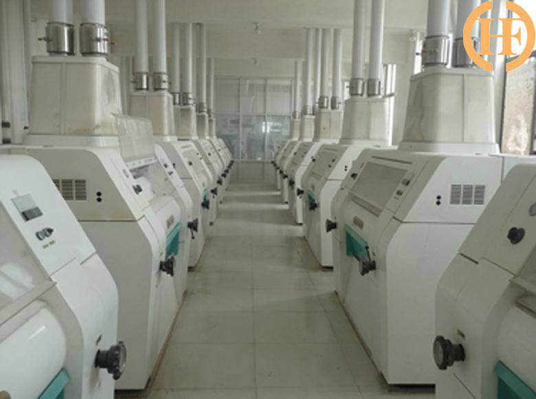 HDFW500 WHEAT FLOUR MILL