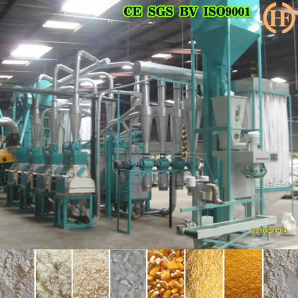 maize milling machine