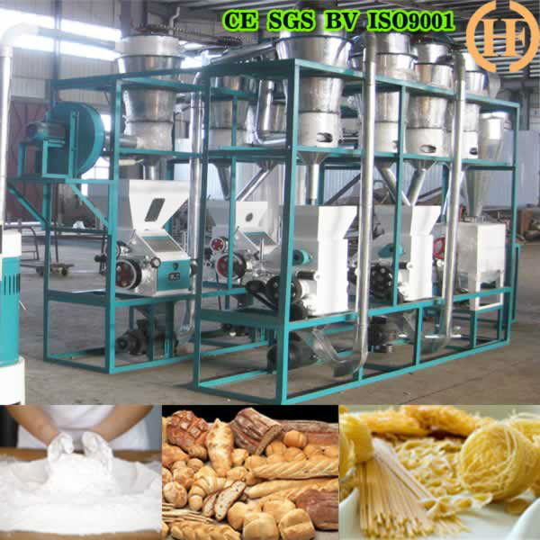 HDFW10 WHEAT FLOUR MILL