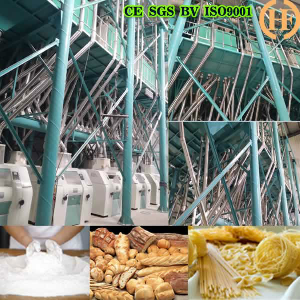 HDFW150 WHEAT FLOUR MILL