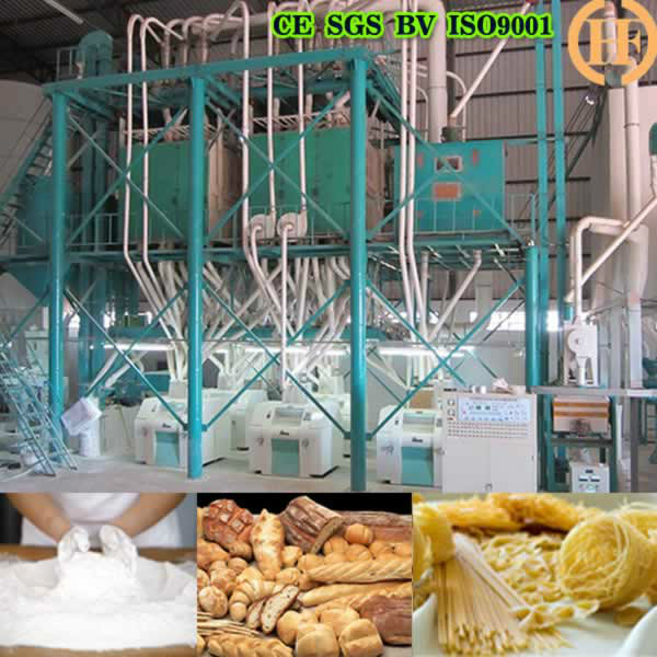 HDFW80 WHEAT FLOUR MILLING MACHINE