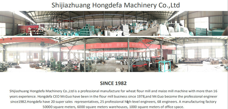 hongdefa machinery for grain milling project